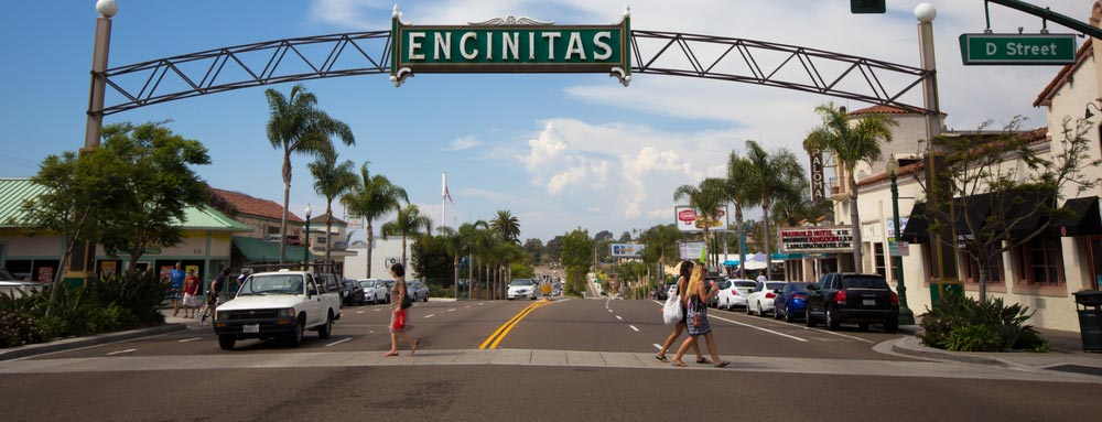 encinitas street sign
